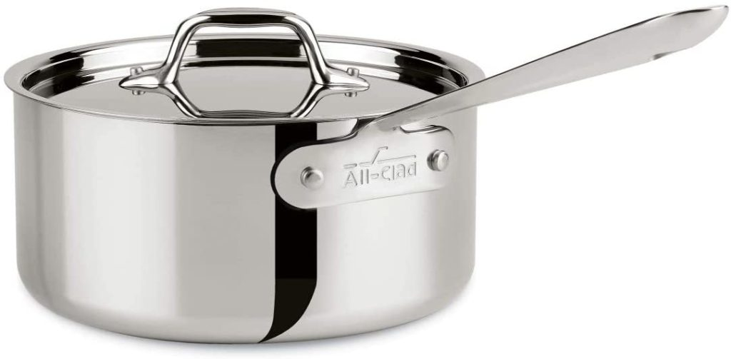 All-Clad 3 qt Saucepan