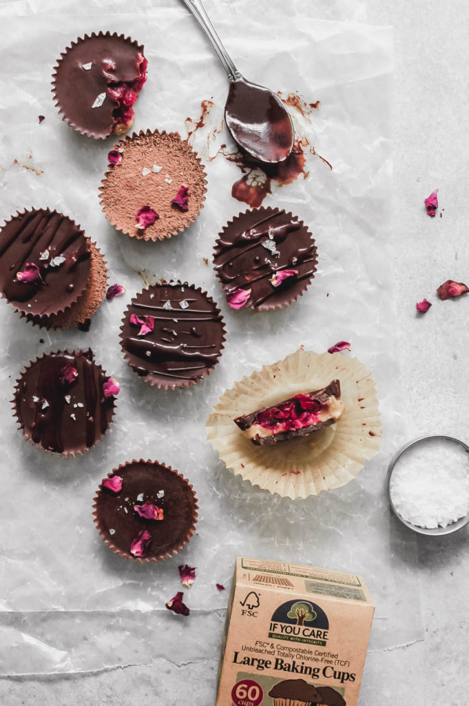 Cranberry Cashew Butter Cups with Reishi and Maple 1| roottoskykitchen.com