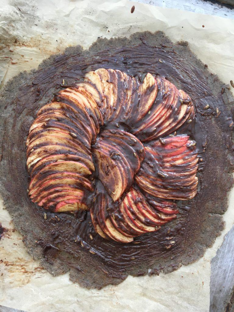 Chai Spiced Apple Galette 14.5 | roottoskykitchen.com