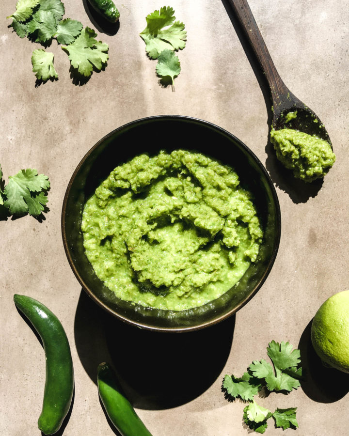 Green Curry Paste 1 | roottoskykitchen.com