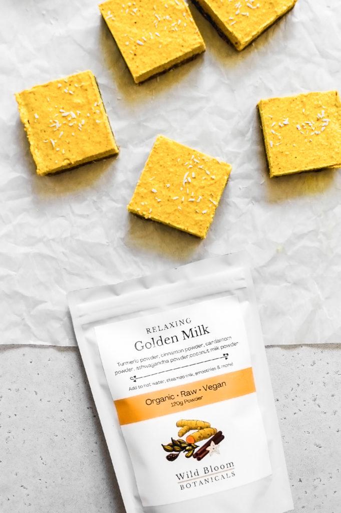 No-Bake Ayurvedic Golden Milk Bars 3-   roottoskykitchen.com