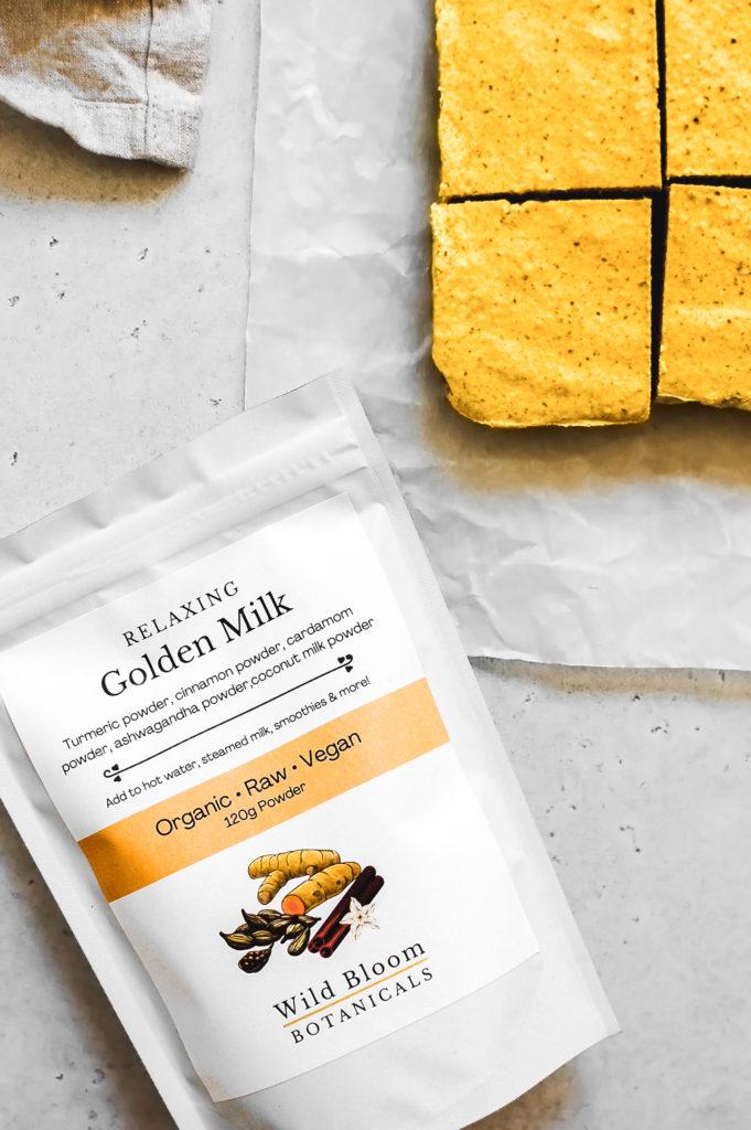 No-Bake Ayurvedic Golden Milk Bars 8-   roottoskykitchen.com
