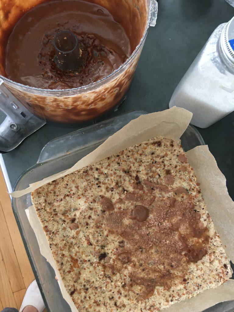 Rose Cacao Chai Tiramisu process 1 - roottoskykitchen.com