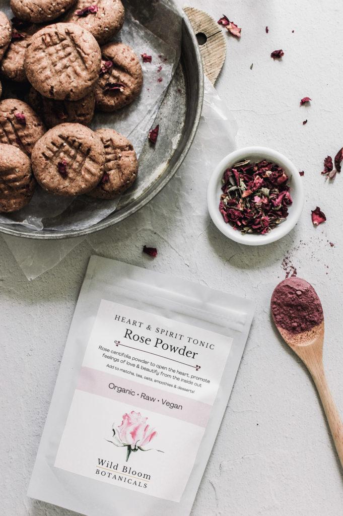 Rose Tahini Cookies 2 roottoskykitchen(1)