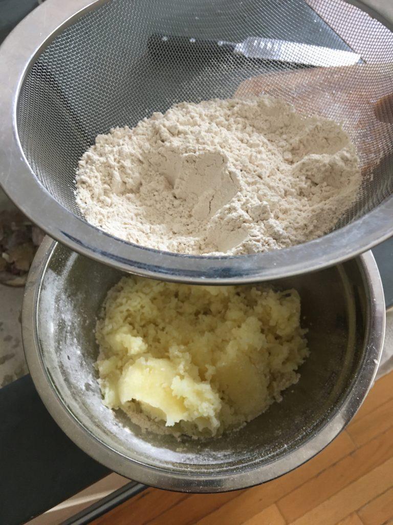 Buckwheat Gnocchi alla Sorrentina process 2