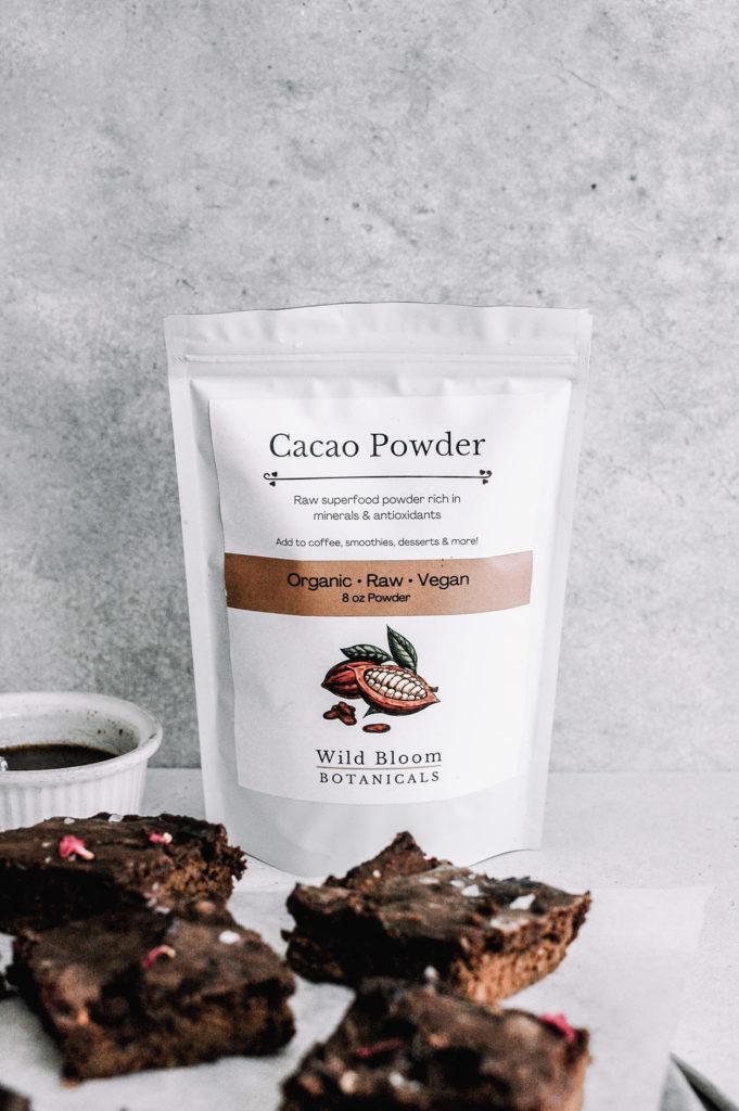 Cosmic Gingerbread Sweet Potato Brownies 2 roottoskykitchen.com