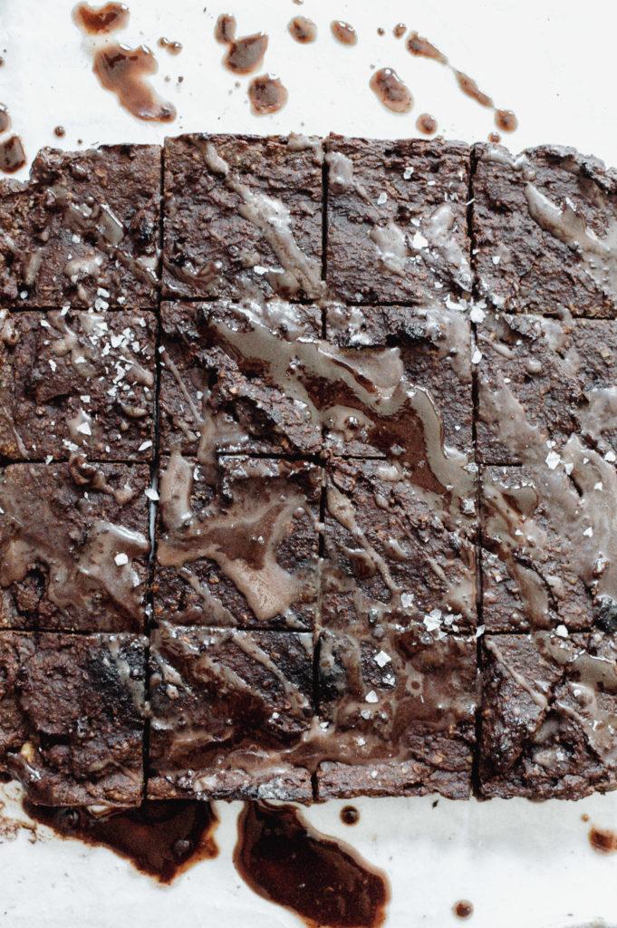 Cosmic Gingerbread Sweet Potato Brownies 8 roottoskykitchen.com