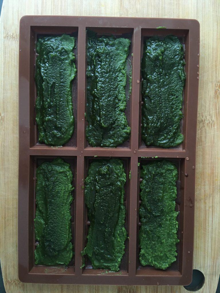 Peppermint matcha chocolate bars process 3 roottoskykitchen
